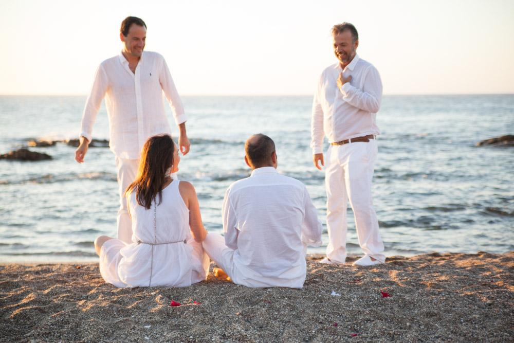 Cérémonie de mariage à l'aube à Avanto, La Cala de Mijas ( Malaga ) entre Fuengirola et Marbella. Mariages Mariages F02 (25)