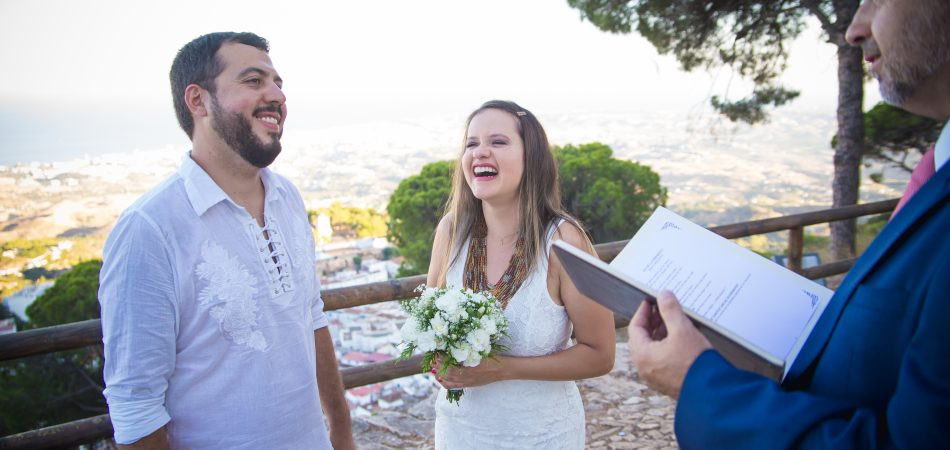 Little wedding blessing ceremony in Mijas Malaga Spain (25)
