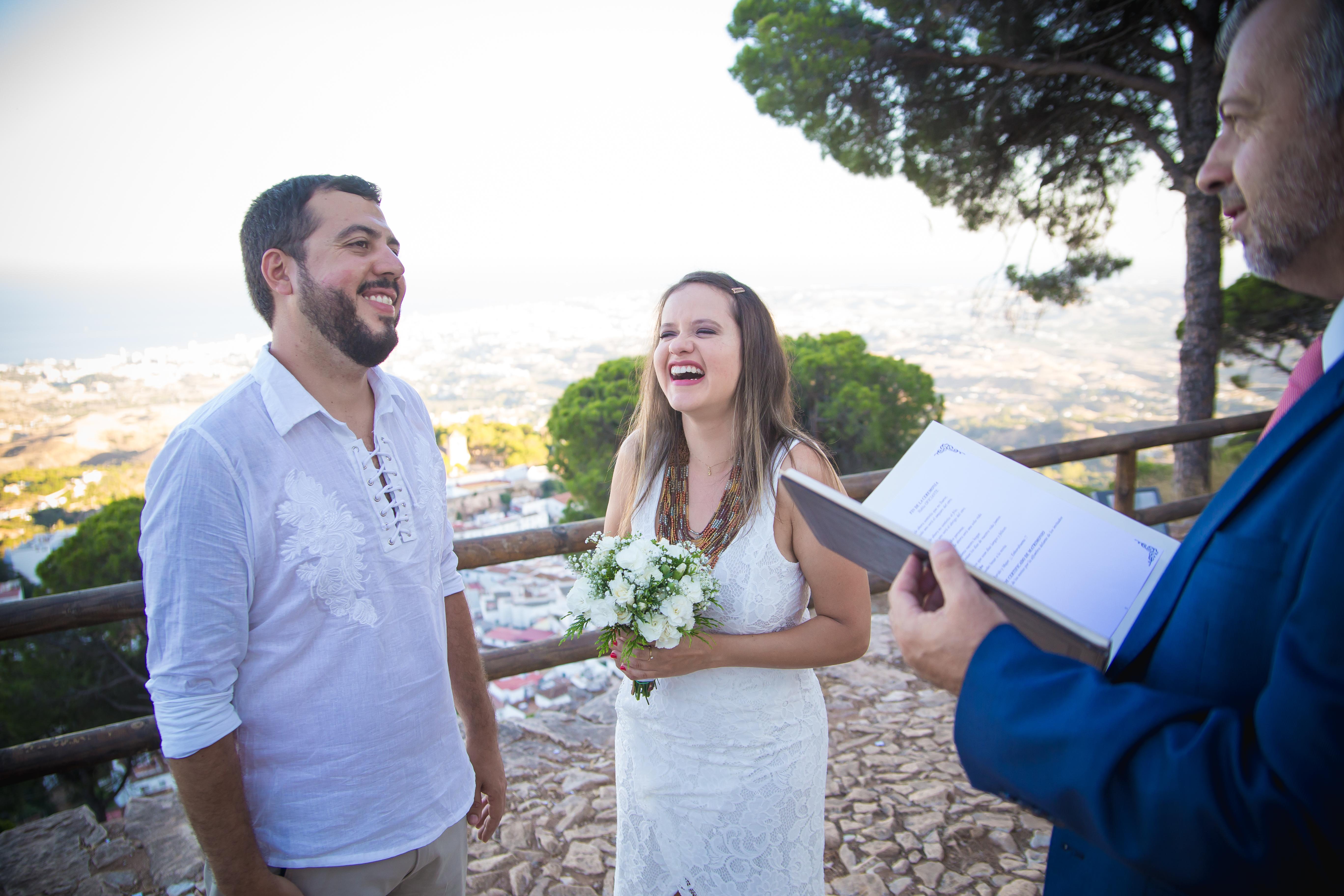 Pequeña ceremonia de bendición de boda en Mijas Málaga España (30)