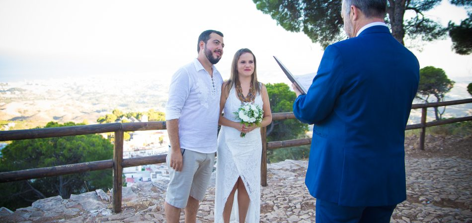 Little wedding blessing ceremony in Mijas Malaga Spain (7)