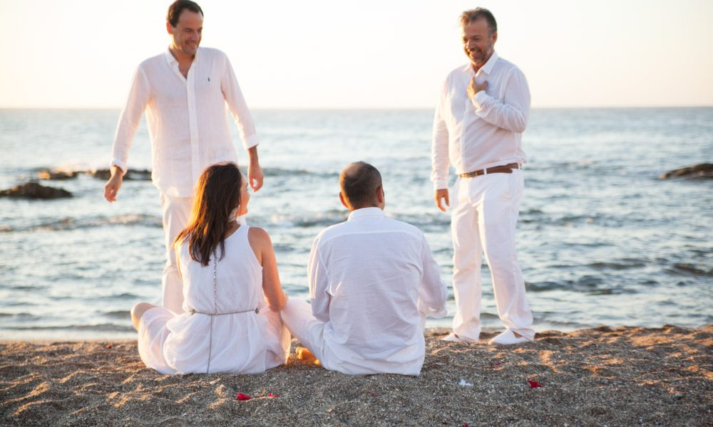 Wedding ceremony at dawn in Marbella beaches (18)
