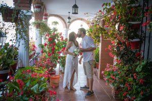 Ceremonia de bendición en Mijas-Málaga-España
