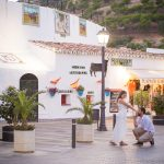 Little-wedding-blessing-ceremony-in-Mijas-Malaga-Spain Wedding minister wedding planner Malaga wedding coordinator